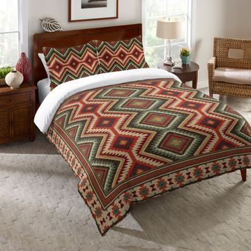 Laural Home Southwestern Pattern Comforter