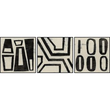 Marmont Hill - Handmade Hieroglyph Triptych