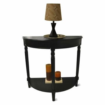 Convenience Concepts French County Entryway Table - Black
