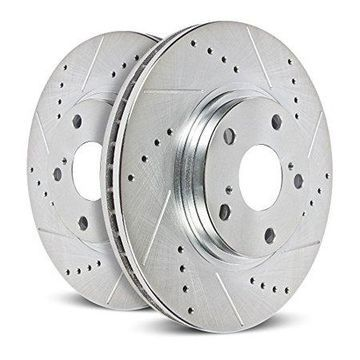 Power Stop AR85154XPR Evolution Drilled & Slotted Rotors -Rear