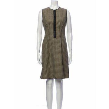 Fleece Wool Knee-Length Dress Wool