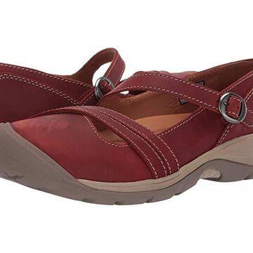 Keen Presidio II Cross Strap (Fired Brick/Brindle) Women's Shoes
