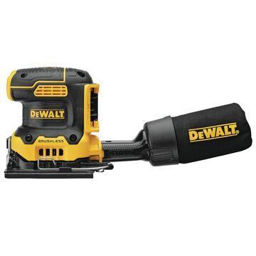 DeWalt MAX XR 20 volt Cordless 1/4 Sheet Variable Speed Sander Bare Tool 14000 opm