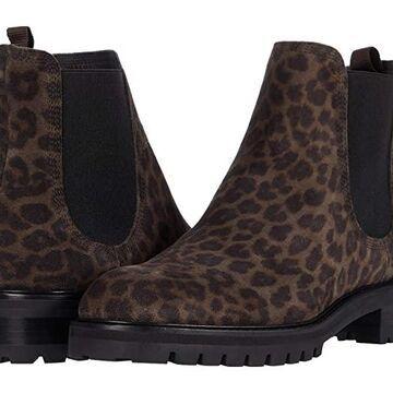 Pedro Garcia Silva (Slate Leopard Velour) Women's Shoes