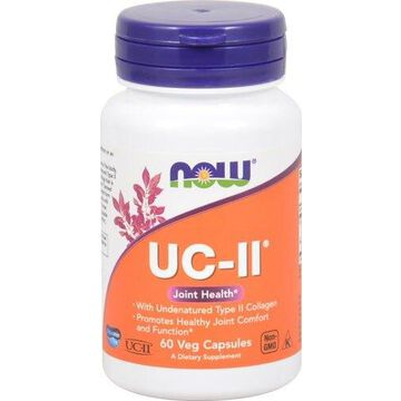 UC II Joint Health Now Foods 60 Caps