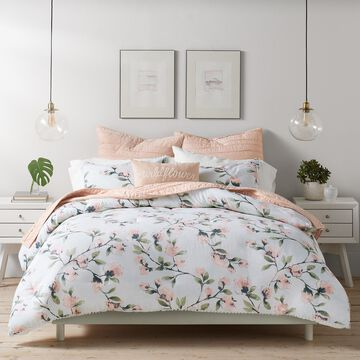 LC Lauren Conrad Terrace Trellis Duvet Cover Set