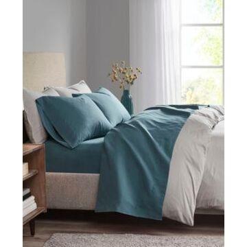 Madison Park 3M Microcell King 4-Pc Sheet Set Bedding