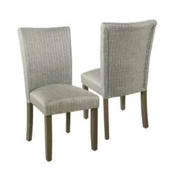 HomePop Classic Parsons Dining Chair - Set of 2