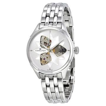 Hamilton Women's H32115191 'Jazzmaster' Automatic Stainless Steel Watch