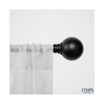 Chaps Home Ball, Window Curtain Rod and Finial Set
