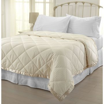 Home Fashion Designs Romana Collection Down Alternative Blanket with Satin Border Throw
