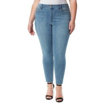 Jessica Simpson Plus Trendy Adored Skinny Jeans