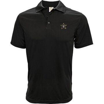 Levelwear Men's Vanderbilt Commodores Black Helium Polo