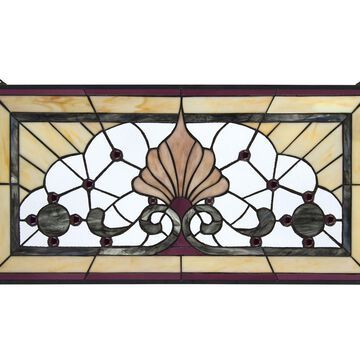 Design Toscano Victoria Lane Stained Glass Window