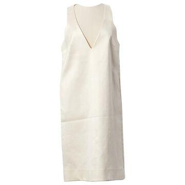 Ellery Ecru Cotton Dresses