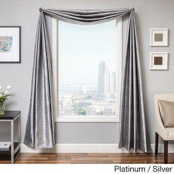 Softline Elton Square 18-foot Window Scarf
