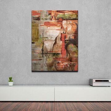 Ready2HangArt 'Abstract Femme III' Oversized Canvas Wall Art