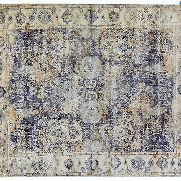 Janney Hand-Knotted Rug - Blue - Exquisite Rugs - 10'x14'