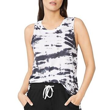 Monrow Tie Dyed Muscle Tank Top
