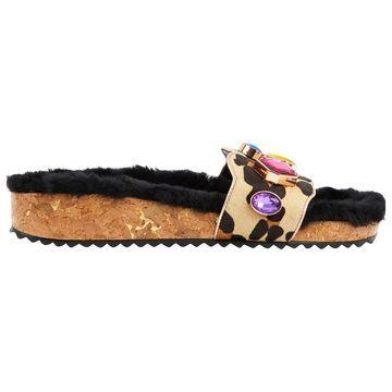 Sophia Webster Multicolour Leather Sandals