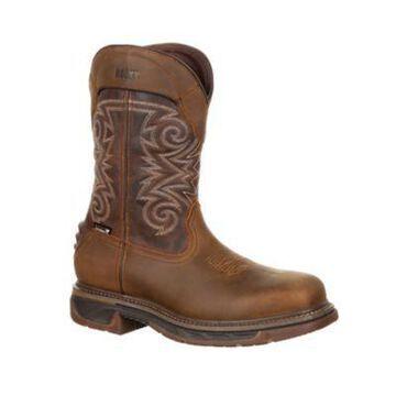 Rocky Men's Iron Skull Composite Toe Waterproof Western Boots, RKW0249