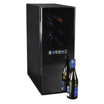 Koolatron Urban Series 12 Bottle Dual Zone Wine Cooler, Thermoelectric Wine Fridge, 1.3 cu. ft. Freestanding Wine Cellar for Home Bar, Kitchen, Apartment, Condo, Cottage
