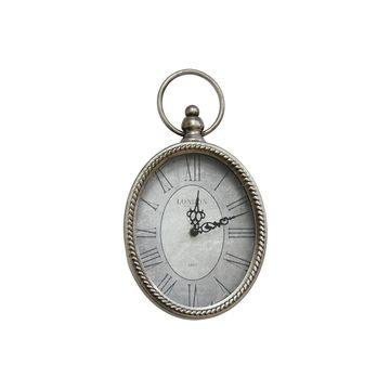 Stratton Home Decor Antique Oval Wall Clock