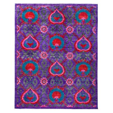 Solo Rugs Lily Suzani Indoor Area Rug