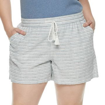 Plus Size SONOMA Goods for Life Beach Shorts