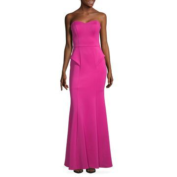 Speechless Sleeveless Fitted Gown-Juniors