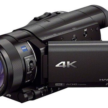 Sony Black 4K Camcorder With 1
