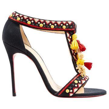 Christian Louboutin Multicolour Cloth Sandals