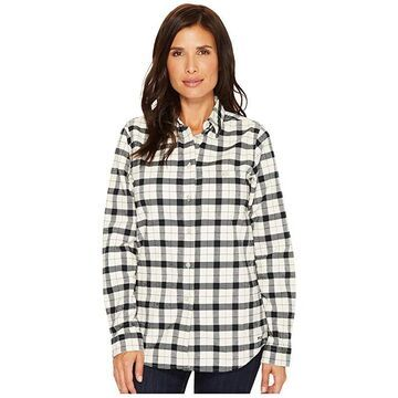 Filson Alaskan Guide Shirt (Cream/Black) Women's Clothing
