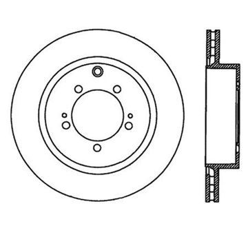StopTech 126.46065SL StopTech Sport Rotor; Rear Left; 11.81 in. Dia.; 2.30 in. Height;