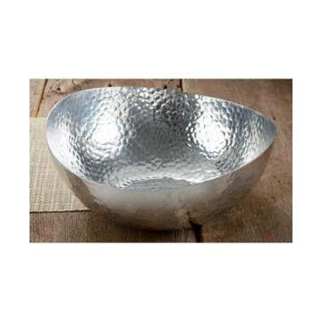 "St. Croix Kindwer 14"" Hammered Aluminum Bowl"