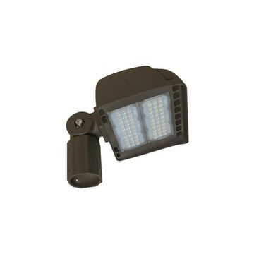 MORRIS Morris Products 71148A LED ECO-Flood Light with 2.37 in. Slipfitter 150 Watts, 120-277V 5000K Bronze