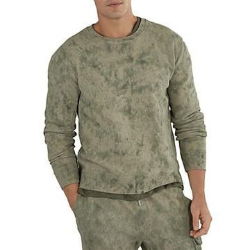 Atm Anthony Thomas Melillo Cotton French Terry Abstract Camo Slim Fit Sweatshirt
