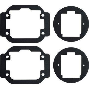 Rigid Industries 09-15 Nissan Frontier - Fog Light Kit - Mounts set of Dually/D2
