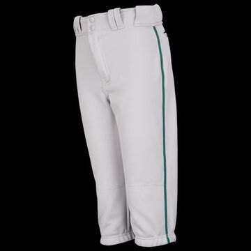 Easton Boys Easton Pro + Knicker Piped Baseball Pants - Boys' Grade School Grey/Green Size M