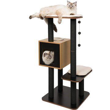 Vesper V-High Base Cat Tree, 47.8-in