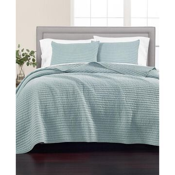 Washed Rice Stitch King Quilt, Created for Macy's