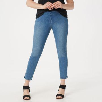 NYDJ Alina Pull-on Ankle Jeans -Aquino
