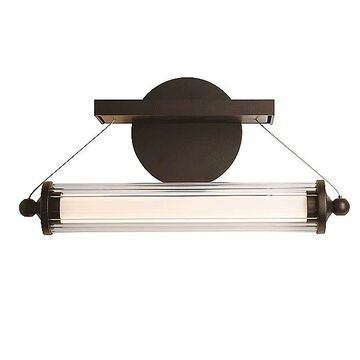 Hubbardton Forge Libra LED Sconce - Color: Clear - 209105-1001