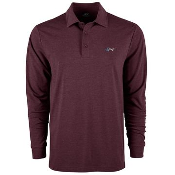 Men's Long-Sleeve Polo, Created for Macy's