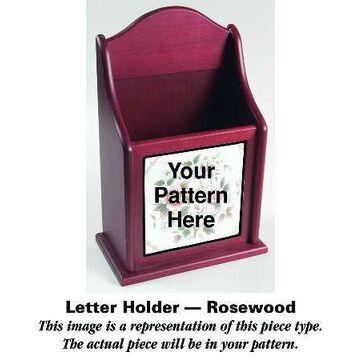 Mason's Paynsley Pink Rosewood Letter Holder HC
