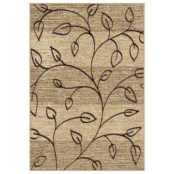 Orian Indoor/Outdoor Four Seasons Kingwood Area Rug, Driftwood, 7'8