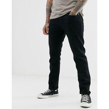 Esprit slim fit jean in black rinse wash