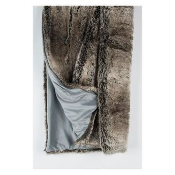 Solid Faux Fur Throw - Rizzy Home