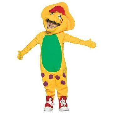 Rasta Imposta 32404 Barney and Friends-BJ Child Halloween Costume Size 4-6x