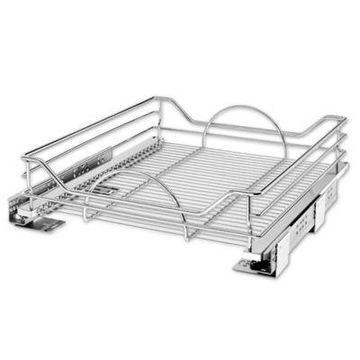 Rev-A-Shelf - 5730-21CR - 21 in. Chrome Pull-Out Basket with Soft-Close Slides